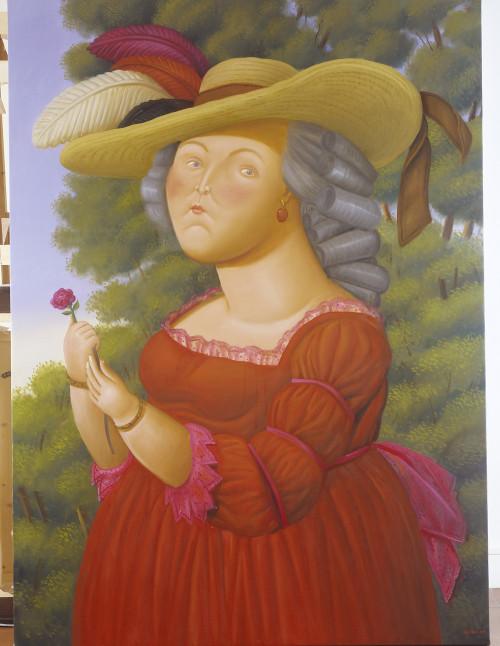 7-marie-antoinette-par-fernando-botero-2005-fernando-botero