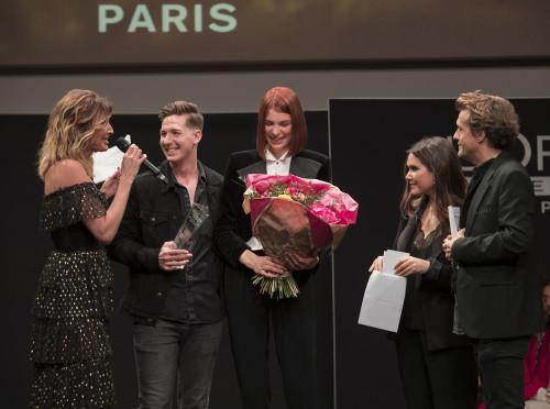 Le gagnant Pascal Lombardo et son modèle © tomaderon pour L'Oréal Professionnel