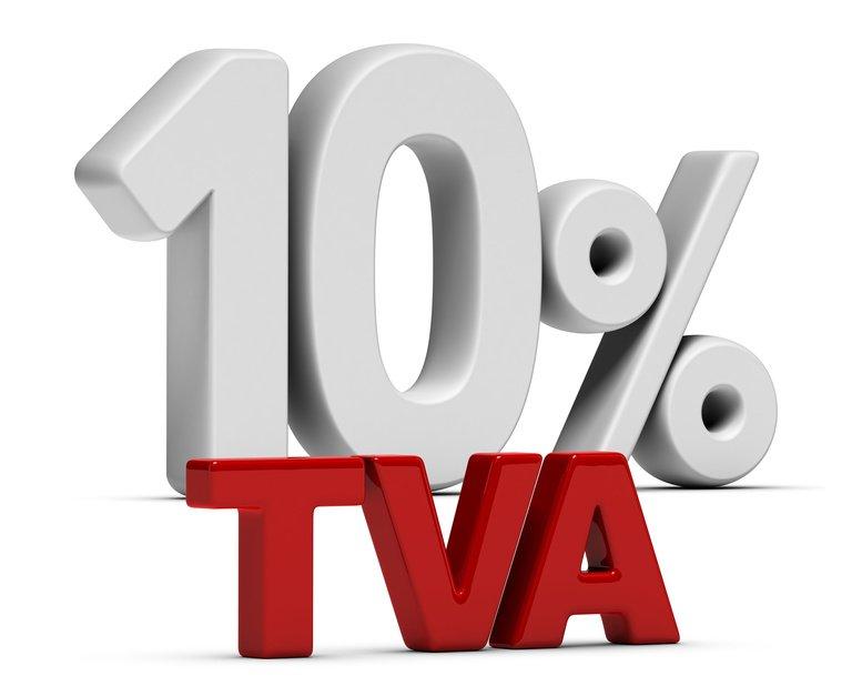 l'Unec mobilise pour une TVA à 10%