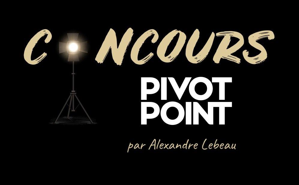 Pivot Point : un concours pour les jeunes !